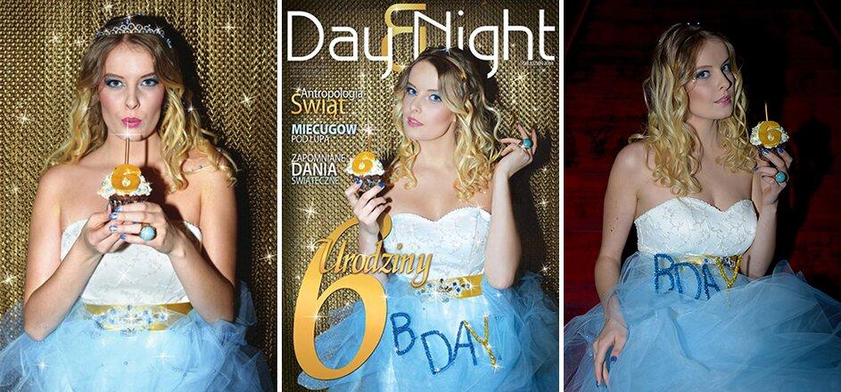 Sesja okładkowa dla magazynu Day&Night